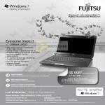 Notebook LifeBook LH520