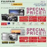 FujiFilm Digital Cameras FinePix F72 AV150