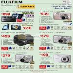 FujiFilm Digital Cameras Finepix Real 3D W1 V1 F80 S100 JZ300 JX200 J27
