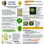 A2049 Electricity Power Saver Mini Sun EPS Fuel Saver