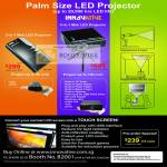 Mini LED Projector MP 100 SP 1000 LCD Touchscreen Converter
