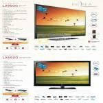 LED 3D TV LX9500 LX6500