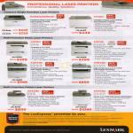 Laser Printers E260D E260dn C540n X203n X204n X264dn X365dn X543dn X544dn
