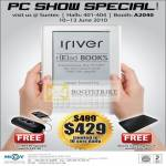IRiver ILuv Isp100 Speaker EBook Reader
