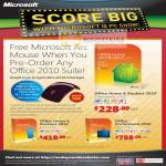 Office 2010 Home Student Business Professional Free Arc Mouse