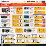 Digital Cameras T100 FE 47 FE 4030 Mju U5010 UTough 3000 U7040 6020 U9010 8010 SP 600UZ 800UZ Voice Recorders