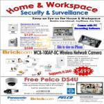 Panasonic BL C101 C131 IPCam Brickcom WCB 100AP OC Pelco IP Camera