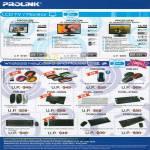 Prolink LCD TV Monitor PRO1612W PRO2012W PRO2213TW Wireless Keyboard Mouse PMO712G PCML 5307G