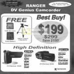 DV Genius Video Camcorder 1000 3000