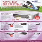 Samsung Projectors Portable Data SP M220S M225 M255 D400 L330 F10M P410M U300