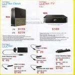 Seagate FreeAgent GoFlex Desk TV Media Player USB 3 Firewire Upgrade Cable