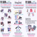 Singink Printer Refill Kits Toner Iron On T Shirt HP Canon Brother