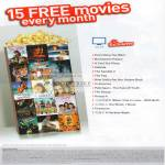 Singtel Mio TV Exclusives 15 Free Movies