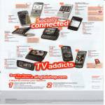 Singtel Mobile Phones Nokia BlackBerry Motorola Sony Ericsson Vivaz HTC Samsung
