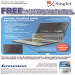 Singnet Lenovo Ideapad U460 Notebook Brown Specifications