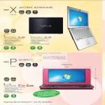 Vaio Notebooks X VPCX128LG VPCX125LG P Netbook VGN P45GK