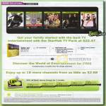 Starhub TV Channels Pack Hubstation HD
