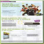 Starhub TV Fifa World Cup Package Hubstation HD Prepaid Pack