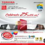 25th Anniversary Promotion