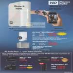 External Storage My Book World Edition ShareSpace NAS Media Player TV Mini Live Passport AV