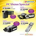 Aiptek Camcorder AHD C100 PocketDV H220HD AHDH5 Extreme PenCam HD