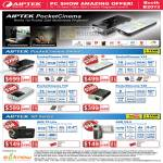 Aiptek PocketCinema Projector V20 V10 T30 T20 Camcorder AHD T8 Lite VS 5