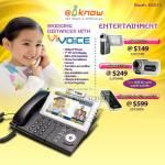ViVoice VOIP Phone Camcorder Aiptek VS S T7 Pro PocketCinema V20