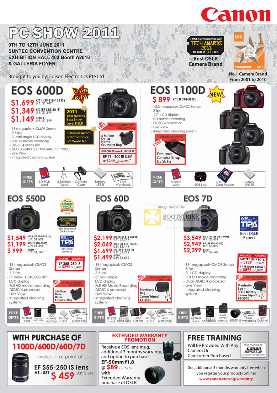 canon price list Product features: dslr 18 mp camera 5184 x 3456 px hd video recording  cmos sensor 3 in, lcd, touch display 1/4000 sec max shutter speed hdmi, .