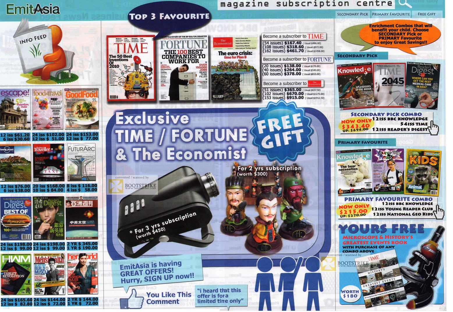 emit asia magazine subscription time fortune kids reader 39 s digest goodfood economist hwm her. Black Bedroom Furniture Sets. Home Design Ideas
