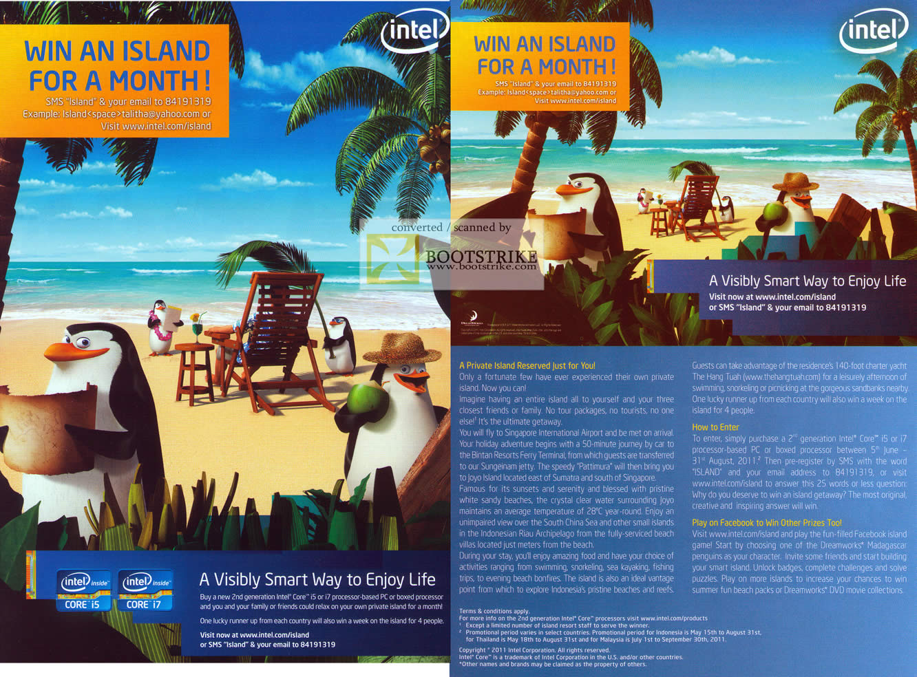 PC Show 2011 price list image brochure of Intel Win An Island For A Month Joyo