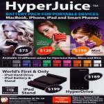 AAAs HyperJuice Battery Pack MacBook IPhone IPad Nano Micro Mini Stand HyperDrive