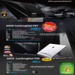 Notebooks Gaming Lamborghini VX7 VX6 Bang Olufsen ICEpower Audio GTX460M