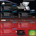 Notebooks N43SN N53SV NX90 G53SW-FHD G73SW-FHD G73SW-3D
