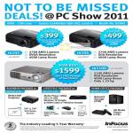 InFocus Projectors IN102 IN104 IN1100