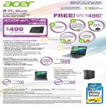 Notebooks Desktop PC Aspire 4750G 2414G64Mn Iconia Tab A500 Tablet 5750 X3990