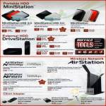 External Storage Portable Ministation HDD USB DriveStation AirStation Nfinity Wireless Router Airshare Adapter