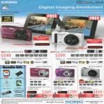 Sony Brothers Digital Cameras EX-ZR10 ZR100 ZS10 Z2300 H30