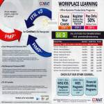 Comat ITL V3 PMP RMP Workplace Course Microsoft Excel Powerpoint Word WSQ ICDL Financial Modeling Programs