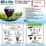 Aztech AZ E-Lite LED Lights Azcend Globe Bulb Surface Mounted Hourly Special Azpire Candle Spot Azcend