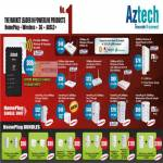 Aztech Networking Wireless Repeater HomePlug AV ADSL2 Router Ethernet Mediastream Adapter USB Bundles