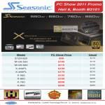 Seasonic Power Supply Unit PSU S12II-620 M12II-520 620 X-400FL 460FL X-560 660 760 850