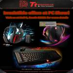 Thermaltake Tt ESPORTS Keyboard Mouse Headset DTS