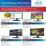 Monitors UltraSharp IPS U2311H U2410 U2711 U3011