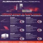 Notebooks Alienware M11X M14X Aurora M17X TactX Headset Mouse