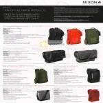 Nixon Bags Backpack Shadow Matthews Messenger Small Smith Skatepack Cushing Vertical Turf All Purpose