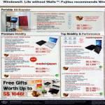 Notebooks Lifebook BH531 DB5W-6 DR5W-6 SH561 DB5W DW5W WS-8 SH761S-8 SH761 DB7WP