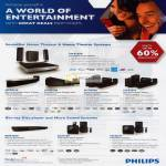 Philips HTS7200 HTS9140 HTS6120 HTS3560 HTS3510 Blu Ray Player BDP3200 DCM105 MCD107 DVD