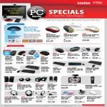 TDK BlueTrace Mouse Wireless Keyboard Optical USB Speakers Headset Hub Card Reader Webcam Laser Presenter