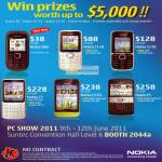 Jim & Rich Nokia Phones 1616 C1-01 C2-01 C3 C5-03 E5