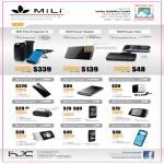 MiLi External Battery Packs Pico Projector II Power Queen Star King Prince Crystal Spirit Spring 4 Pack 4 Angel Skin